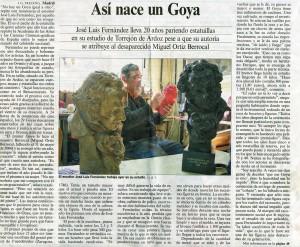 Asi nace un Goya